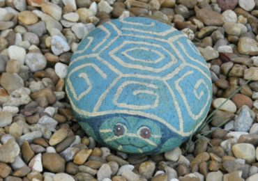 Idea for the Weekend: Paint a Rock!